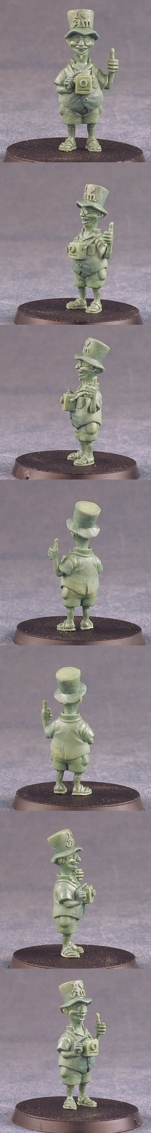 Green for Twoflower of Discworld to be released by MicroArtStudio