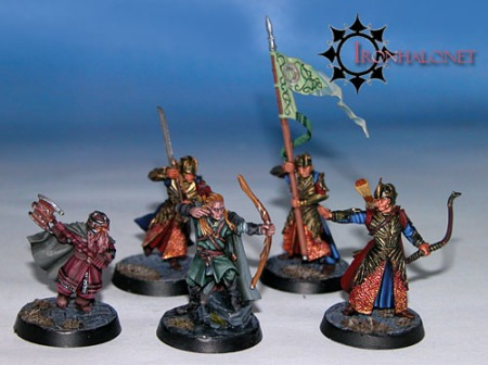 An example of Alan (from IronHalo) models on IronHalo bases.